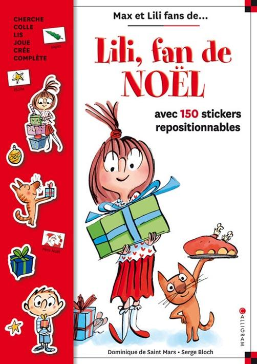 LILI, FAN DE NOEL - LIVRE STICKERS - NUMERO 12